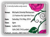 MWCSS Fund Raiser Dinner 31 MAY